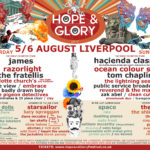 Liverpool's Hope & Glory Festival: spectacular full lineup revealed